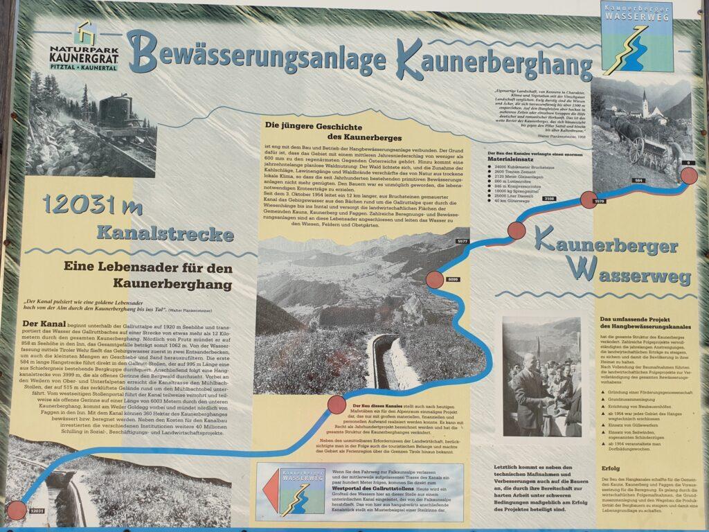 Kaunerberger Wasserweg