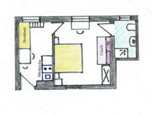 Grundriss Familienzimmer